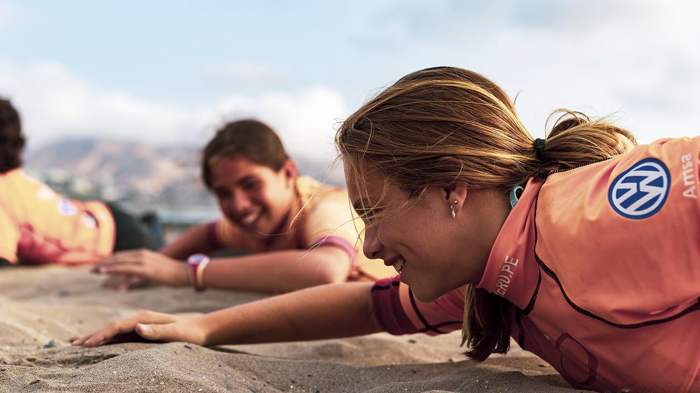 Nivel básico aprender a Surfear Perú