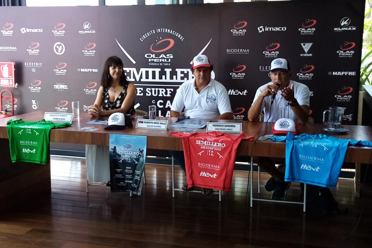 Semillero Olas Perú 'Copa Cala' se inicia en playa Cerro Azul