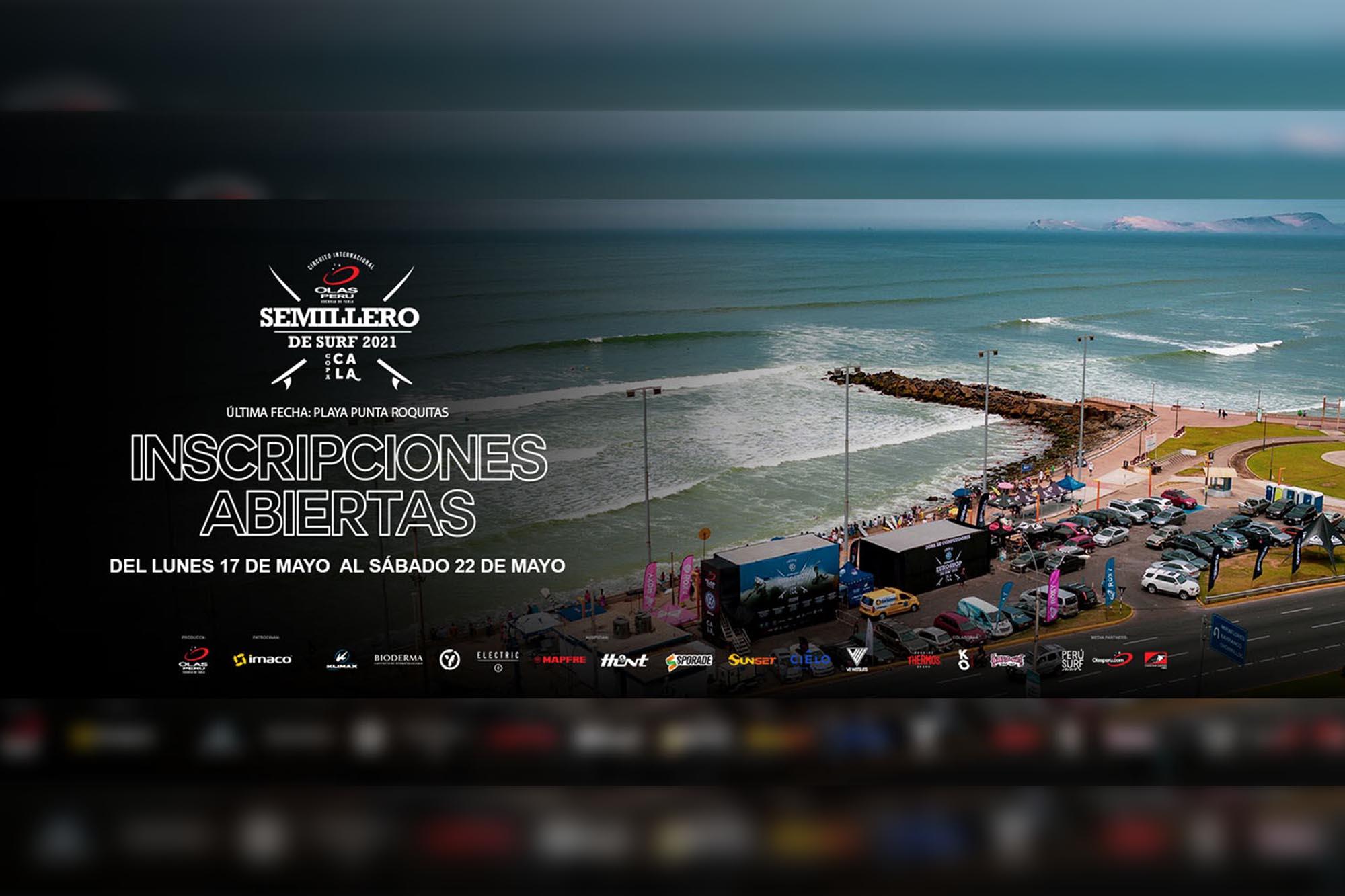 El Semillero de Surf Olas Perú 2021 está de vuelta