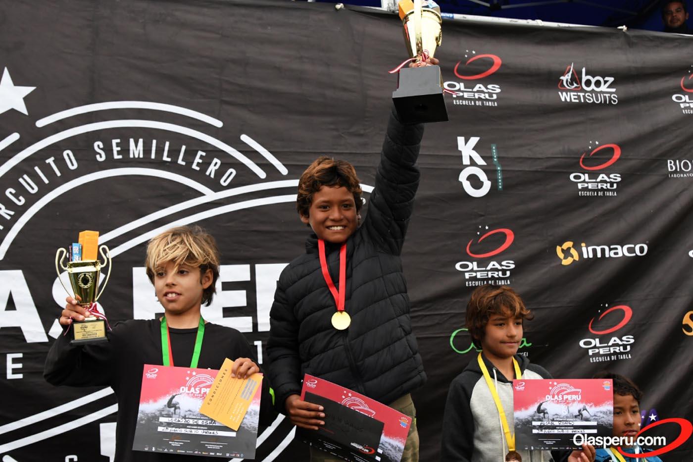 Punta Hermosa coronó a los campeones del Semillero Olas Perú 2021